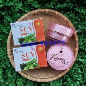KEM DƯỠNG DA CHỐNG NẮNG KISSING SUN SPF 50+++ (KEM KHỔ QUA)