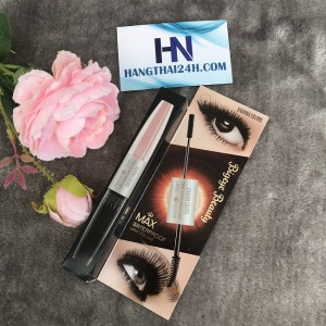 MASCARA 2 ĐẦU SIVANNA COLOURS TWO - STEP MAX WATERPROOF